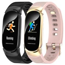 QW16 Smart Fitness Bracelet Color Screen Smart Band Blood Pressure Heart Rate Monitor Electronic Health Wristband PK mi band 3 smart watch m19 heart rate fitness bracelet sleep monitor smart tracker blood pressure smart band color screen band pk mi band 3