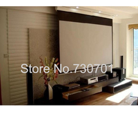 Motorized Projector Screen / Electric Projector Screen / Automatic Projector Screen 15016:9 Wall Mounted