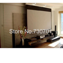 Motorized Projector Screen / Electric Projector Screen / Automatic Projector Screen 150″16:9 Wall Mounted