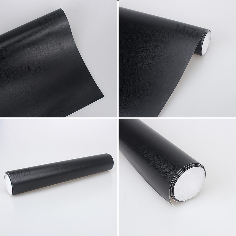 30*152cm fabric for Car Interior Sticker Body car interior adhesive Films leather grain black film Car Stickers With Glue