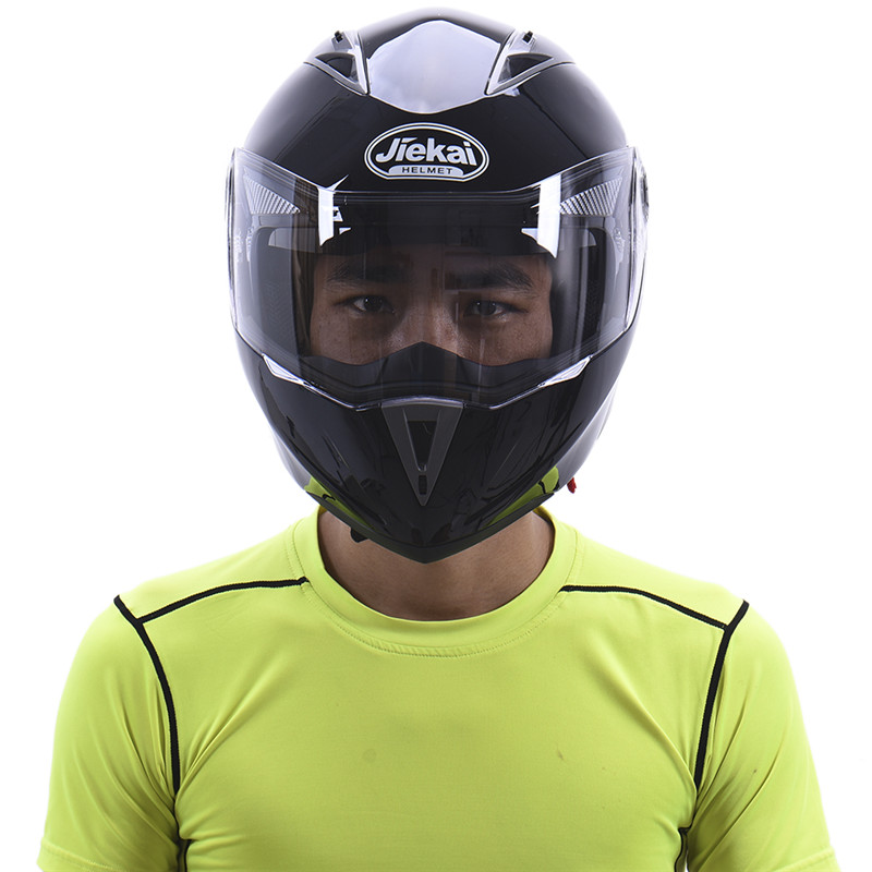 Full Face  Motorcycle/Motorbike Harley Helmet Flip up Unisex Men/Women Adult Racing off road ABS Black/Blue L/XL/XXL
