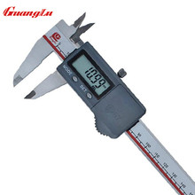 Discount! GUANGLU IP67 Water-Proof Digital Calipers 0-150mm/0.01mm Stainless Steel Electronic Gauge Dustproof Measuring tools