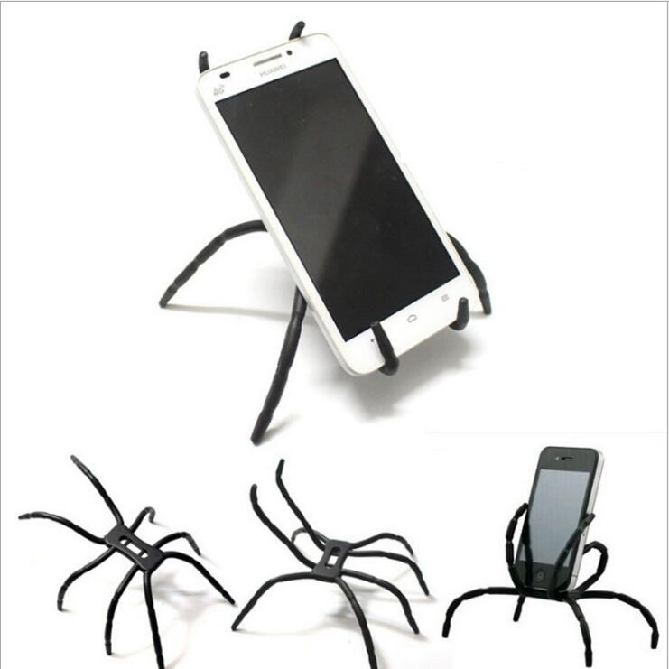 Spider Universal Phone Holders Stands Case For Samsung S7 S6 edge S5 s4 For iphone 6 6S Plus 5 SE Stent Car Bracket Accessories