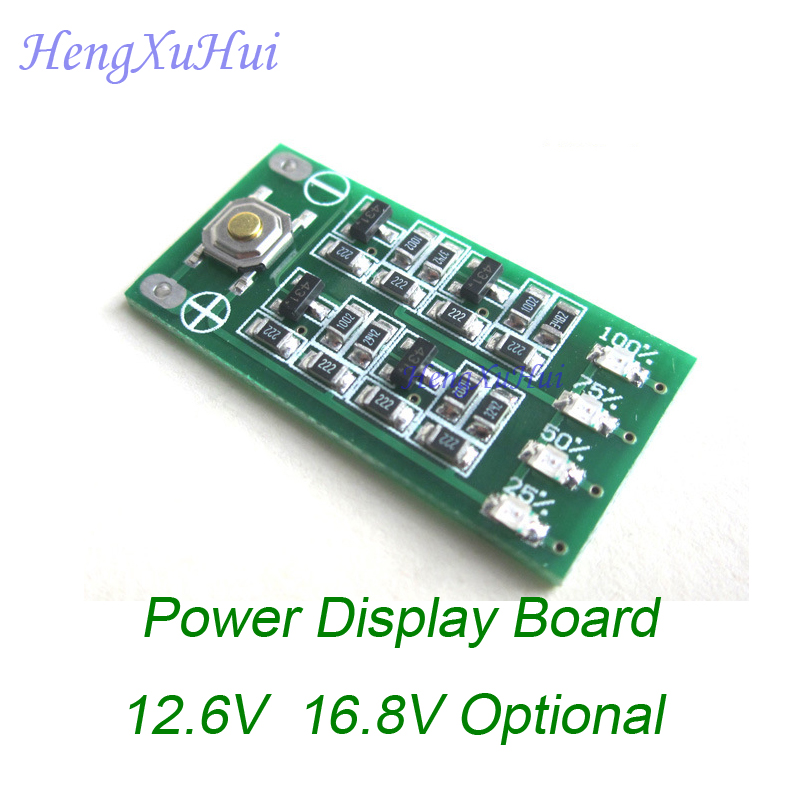 12 6V 16 8V 4Levels Accuracy 1 Power Indicator Board PCB Board