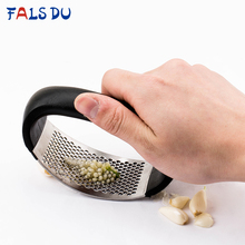 Stainless Steel Garlic Press Manual Crusher Kitchen Hand Chopper Cooking Gadgets Tools Accessories