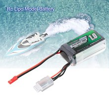 цена на Airtonk Power 11.1V 1000mAh 30C 3s 1P Lipo Battery JST Plug Rechargeable for RC Racing Drone Quadcopter Helicopter Car Boat