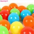 50 pcs engrossar bola macia bola de plástico oceano pool bola bobo bola marinha criança tenda playground bolas de natação brinquedo do bebê engraçado toys