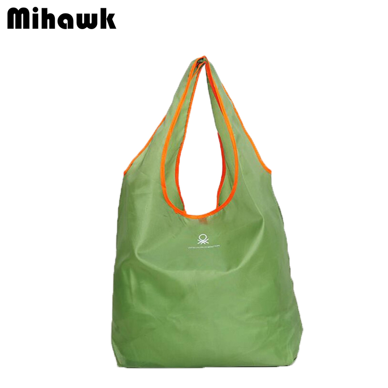 Fashion Foldable Shopping Bag reusable grocery bags Durable Multifunction HandBag Travel Home Storage Bag Accessories Supplies