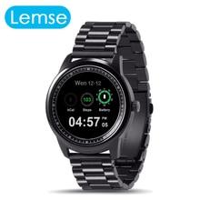 Venta bluetooth smart watch 360*360 píxeles 1.33 pulgadas de pantalla táctil Recaudar para Despertar Smartwatch Llamada SMS Sync Para Android IOS teléfono