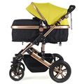 6 Colors High landscape Sleeping basket  can sit or lie shock winter baby stroller free delivery