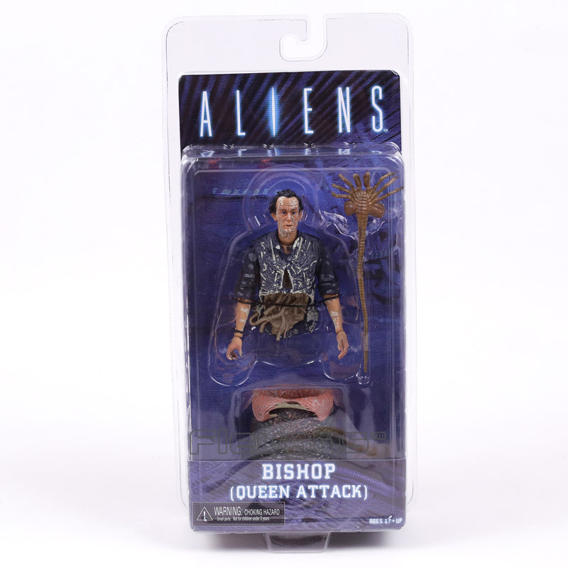 Инопланетянин NECA епископ королева атака ПВХ, движущаяся фигурка, Коллекционная модель, игрушка