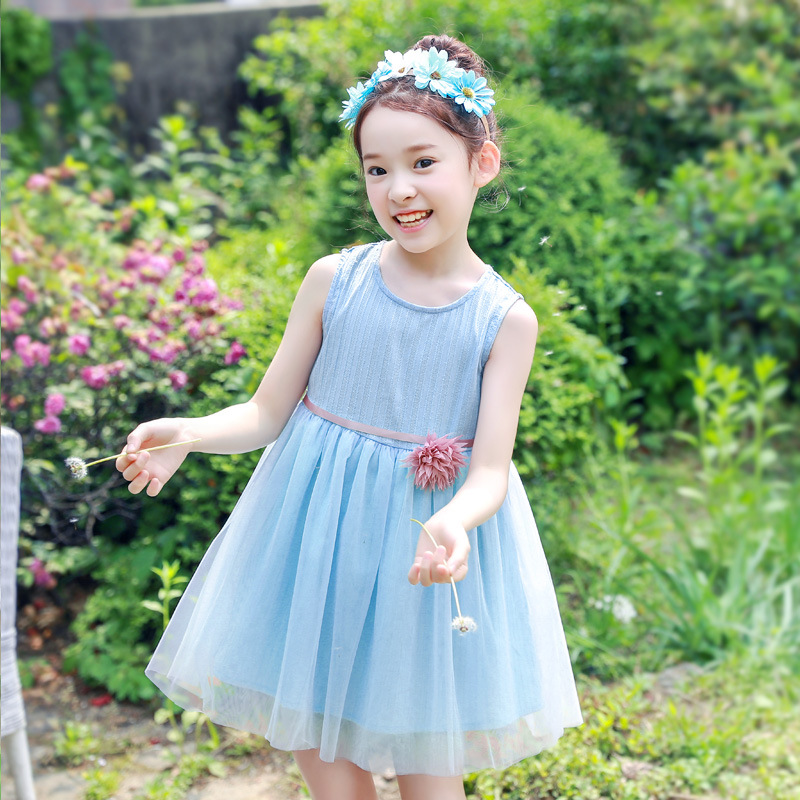 New 2018 Girls Summer Dress Kids Clothes Girls Party Dress Children Clothing Princess Girls Dresses Roupas Infantis Menina Sale new girls summer dress kids clothes girls party dress children clothing pink princess flower girl dresses hot sale