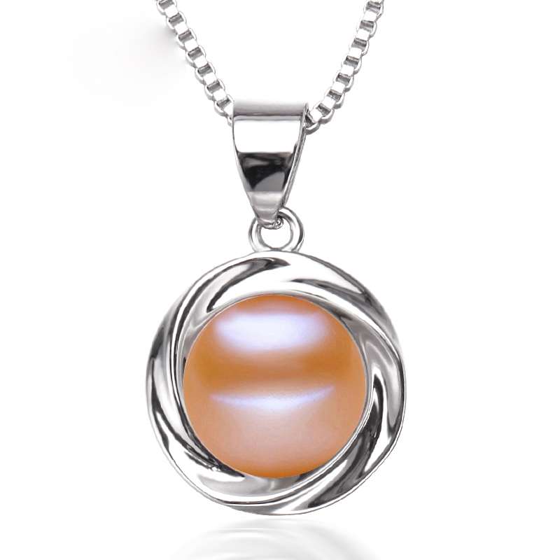 Nueva moda de agua dulce collar de perlas colgante de las mujeres, - Joyas - foto 3