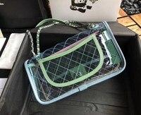 2018 HOT New Luxury Brand PVC Handbags Luxury Women Designer Shoulder Bags Newest Crossbody Chain Bags