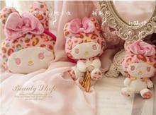 10pcs/lot my melody limited commemorative models color leopard Melody wallet card package keychain pendant series