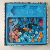 AZUl Chinese and English version board game Funny Puzzle Game for Gift