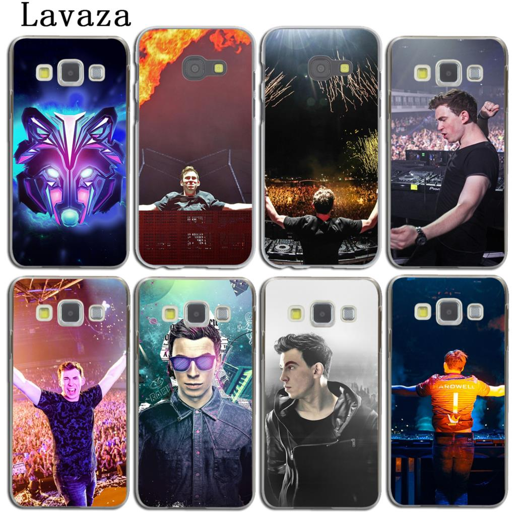 Lavaza Music Hardwell DJ Phone Shell Case for Samsung Galaxy A3 A7 A8 A5 2018 2017 2016 2015 Note 8 5 4 3 Grand Prime 2 Cover