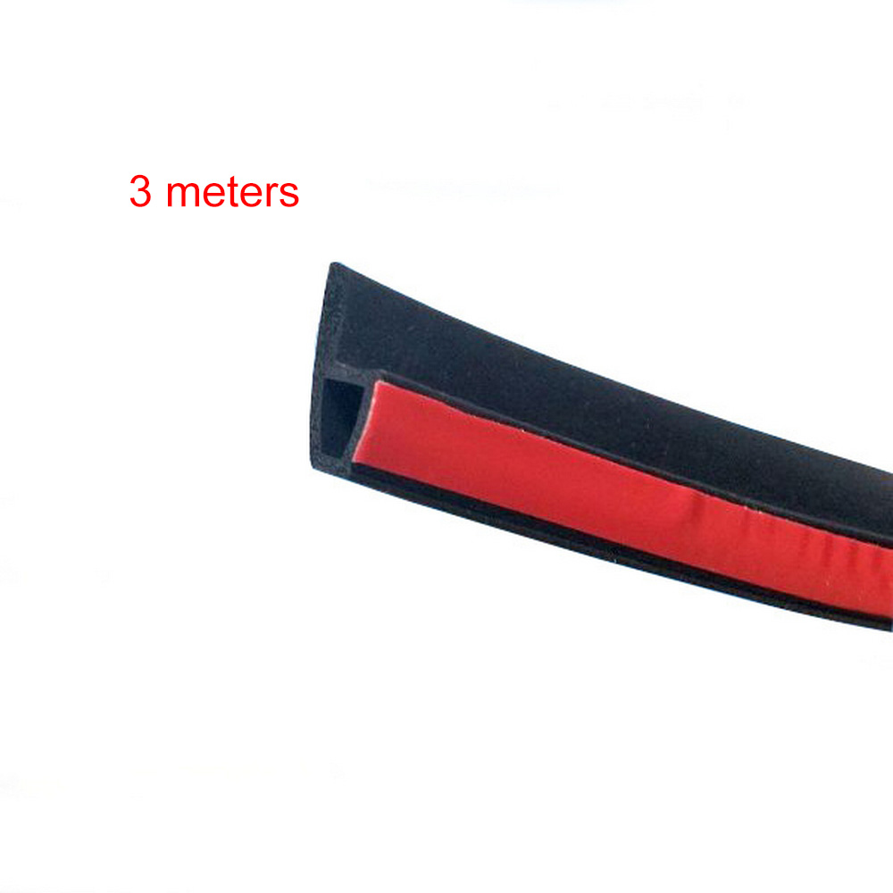 P Type 3M 4M Car Door Sealing Strip Weatherstrip Edge Trim Car Door Rubber Seal Sound Insulation Auto Rubber Seal Strips-in Fillers, Adhesives & Sealants from Automobiles & Motorcycles