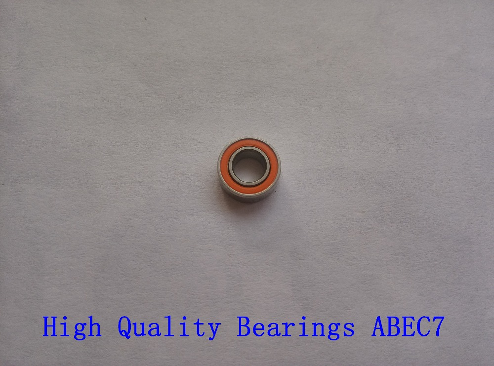 Free shipping 50PCS 3X10X4 Stainless steel hybrid ceramic ball bearing 3x10x4mm S623 2OS CB ABEC7 Fishing