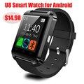 Smartwatch Bluetooth Смарт Часы U8 U80 для iPhone IOS Android Телефон Носить Часы Подключения Whatch Носимых Устройств Smartwach