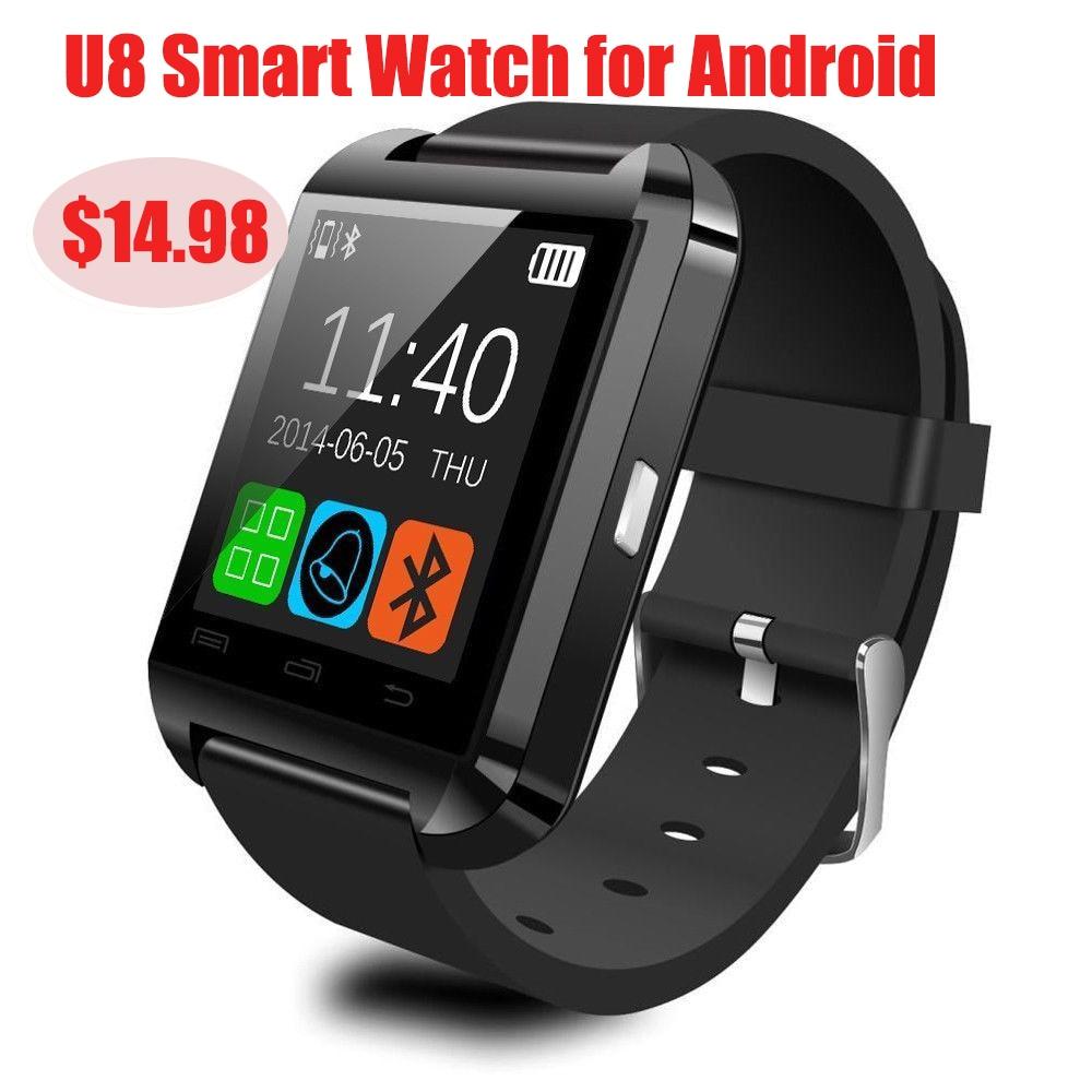 Smartwatch Bluetooth Smart Watch U8 U80 for iPhone IOS Android Phone Wear Clock