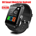 U80 U8 Smartwatch Bluetooth Relógio Inteligente para IOS iPhone Android Telefone Desgaste Relógio Conectar Dispositivo Wearable Smartwach Whatch