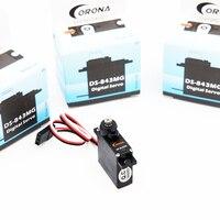 Bundled Sale 4 pcs corona DS 843MG Digital High Torque Micro Servo 4.8kg / 0.10sec / 8.5g