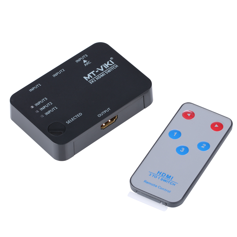 MT-VIKI 3x1 4K HDMI Switch Selector 3 input 1 output Switcher support 3D IR Remote Controller 4K*2K USB Power MT-SW301SR 5pcs 304 stainless steel capillary tube 3mm od 2mm id 250mm length silver for hardware accessories