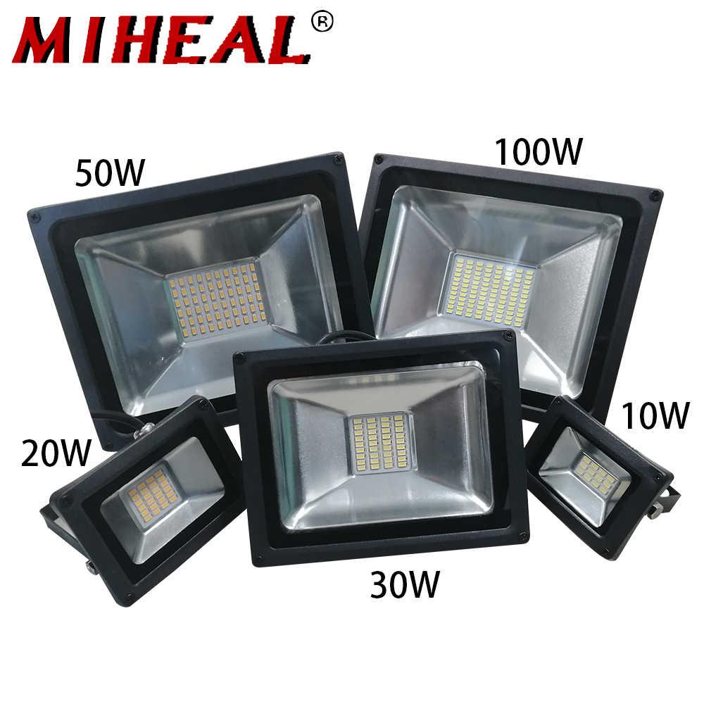10W 20W 30W 50W 100W LED Industrial Lighting AC 220V 230V 240V High Bay Light Lamp Factory Warehouse Workshop Mining Work Light