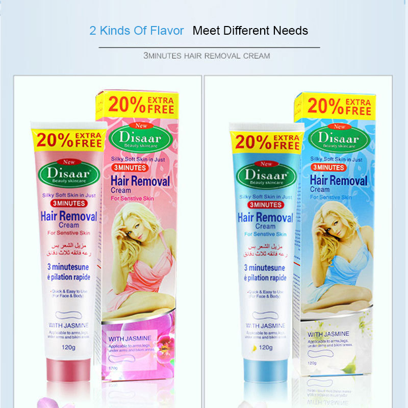 Natural Remove Permanent Hair Depilatory Cream Smooth Skin