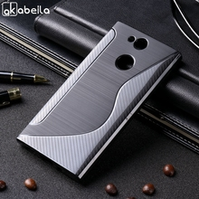 Black Case For Sony Xperia XA2 Ultra XA1 Plus XZ1 Compact XZ2 Mini XZ3 H4113 G8341 Xiaomi Mi A1 5X Funda Back Cover