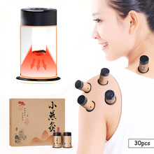 HO Mini autocollant de Moxa, rouleaux de chauffage, 30 pièces, thérapie traditionnelle chinoise, brûleur méridien chaud, acupuncture