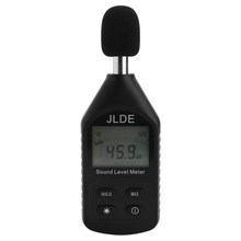 JD-105 Clear Digital Noise Detector Monitoring Mini Lightweight High Accuracy Decibel Meter LCD Backlight Sound Level Meter(China)