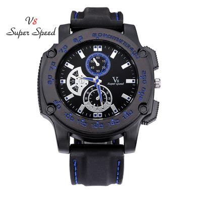 2018 hot style ideas new trend in v8 silicone watches fake eye table student couples quartz watch men and women reloj hombre brand new smt yamaha feeder ft 8 2mm feeder used in pick and place machine