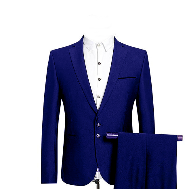 2019 Men Wedding Suits Two Buttons With Pants Wool Blend Tuxedos Fashion Groom Business Career Suits 3 PCS Costume Homme Ternos