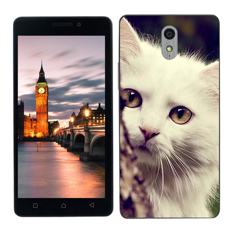 Phone Cases For Lenovo Vibe P1M Silicone Sleeping Painted Protector for Lenovo P1M Cover For Lenovo Vibe P1Ma40 P1 M Coque Multan