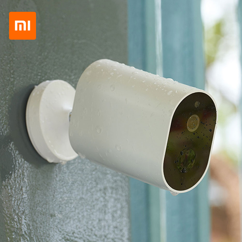 Original Xiaomi Smart Camera 1080P With Battery Gateway 120 Degree F2.6 IP65 AI Humanoid Detection WiFi IP Wireless Camera CamOriginal Xiaomi Smart Camera 1080P With Battery Gateway 120 Degree F2.6 IP65 AI Humanoid Detection WiFi IP Wireless Camera Cam