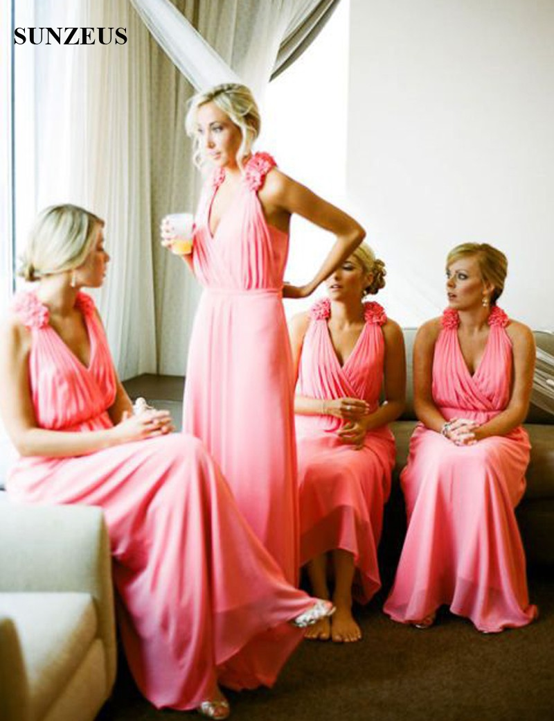 Bridesmaid dresses in watermelon color images braidsmaid dress watermelon bridesmaid dress gallery braidsmaid dress cocktail online buy wholesale watermelon v from china watermelon v ombrellifo Image collections