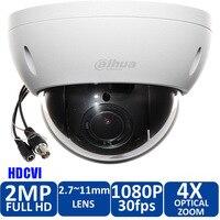 Оригинал DAHUA английский DH SD22204I GC безопасности Камера CCTV 2MP FULL HD 4x камера слежения PTZ HDCVI IP66 IK10 SD22204I GC с питанием