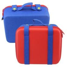 Sert Nintendo anahtarı için taşıma çantası, lüks ve renk Clash Nintendo anahtarı sistemi taşıma çantası, koruyucu sert kabuk seyahat