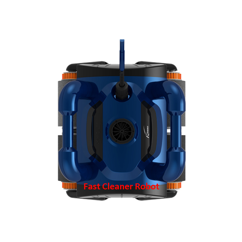 Upgrade high quality iCleaner-200 with 15m cable and caddy cart Automatic Swim Pool Robot Cleaner Swimming Pool Cleaner