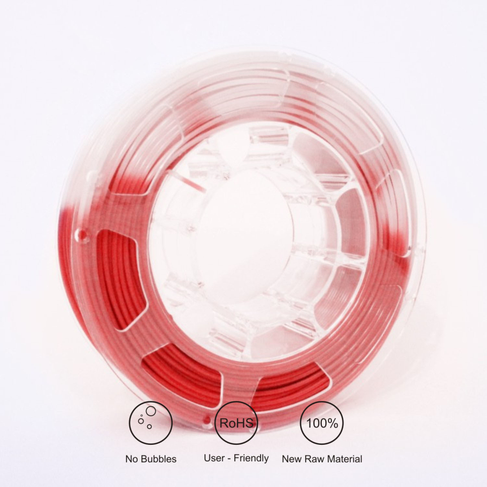 TOPZEAL 3D PLA Impressora de Filamento Cor