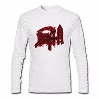 Men S Long Sleeve DEATH Class Logo T Shirt ROCK BAND HEAVY METAL 3D Funny Tshirts