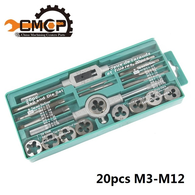 20pcs Tap and Die