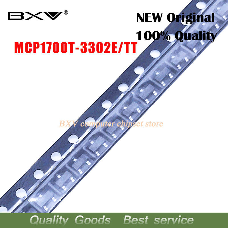10pcs/lot MCP1700T-3302E/TT MCP1700T-3302E MCP1700T-3302 MCP1700T MCP1700 SOT-23 New Original Free Shipping