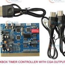 Xbox CGA табельная доска CGA от JAMMA запускайте игры с времени таймера PCB для cрабатывающий при опускании монет CGA ЭЛТ-монитор игровых автоматов шкаф