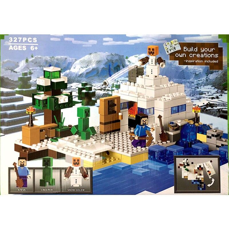 Bela Compatible Legoe Minecrafte Ice My World Zombies Building Blocks - Juguetes de construcción - foto 4