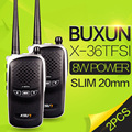 2 ШТ. BUXUN X-36TFSI Walkie Talkie 8 Вт UHF400-480MHz Dual Band Рация CB Радио