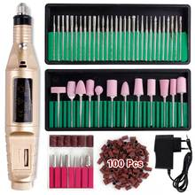 Professional Manicure Machine Electric Nail Drill Bits Set M