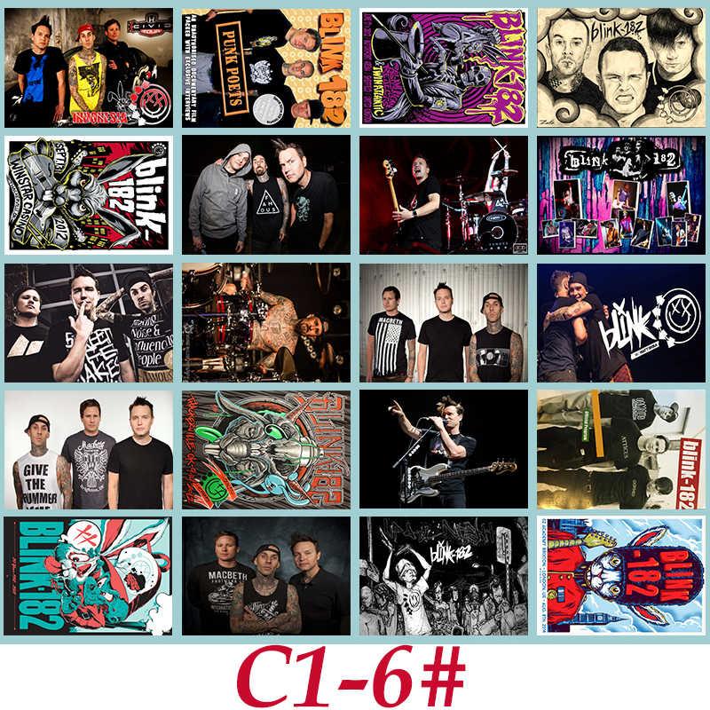 C1-6 # Blink-182 Klassieke Serie sticker 20/stuks PVC Sticker Reizen Koffer PencilBox Bike Telefoon Schuifplaat Graffiti Styling